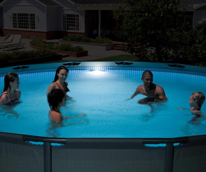 Illuminazione fari subaquei intex intex 28688 piscina.co