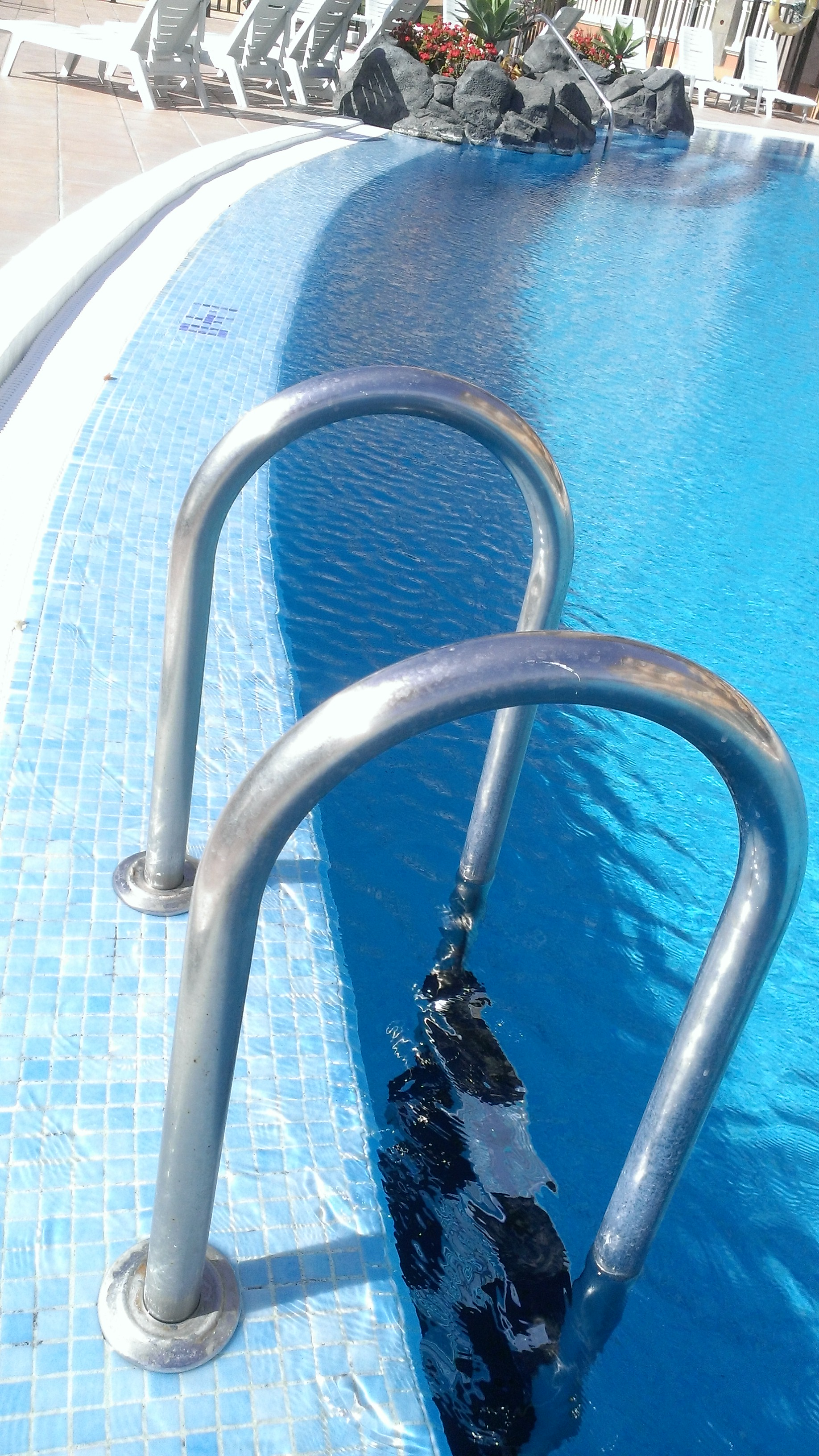 Scaletta piscina dritta in acciaio inox astral pool for Astral piscinas