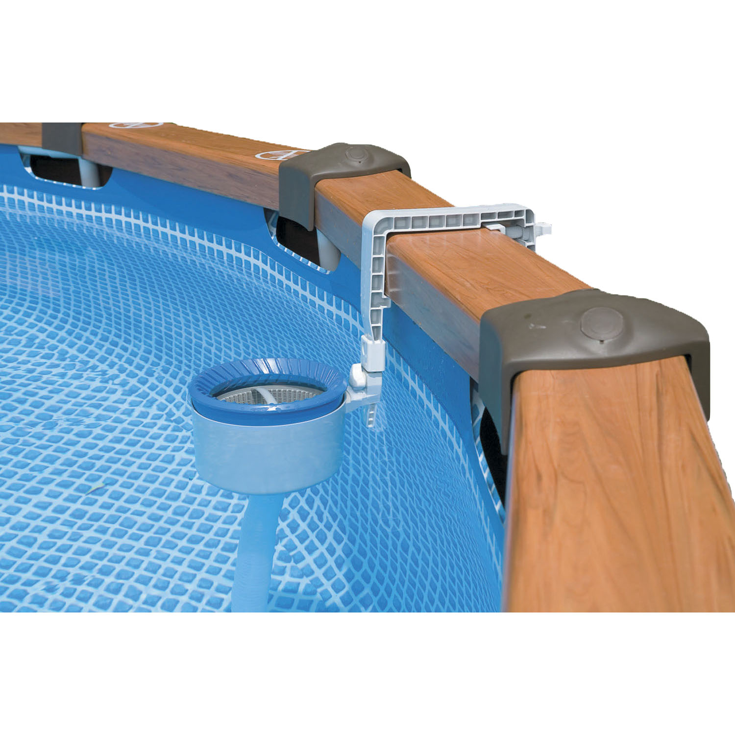 Skimmer deluxe 58949 for Tappeto per piscina intex