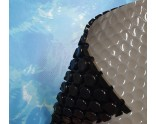 Luxury anti-algae bubble cover (grey-black 400 micron) for Intex XTR swimming pool OVAL�