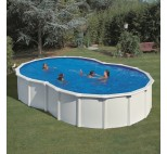 Solar cover eight-shaped pools
