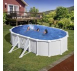 Solar covers oval pools